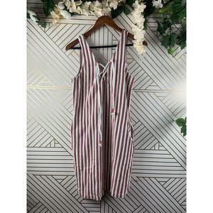 REBECCA MINKOFF Baja Striped Monica Dress Summer
